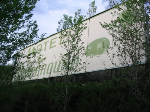 THE OLD SIGN